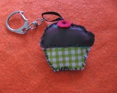 Cup Cake Keychain