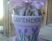 hand-painted herb kit LAVENDER