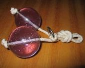 Vintage Lucite 1960s Toy Klackers Clackers Click Clacks Ker-Knockers Klik Klaks