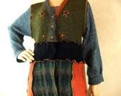 Women Cardigan sweater coat, tunic length sweater, cardigan sweater coat