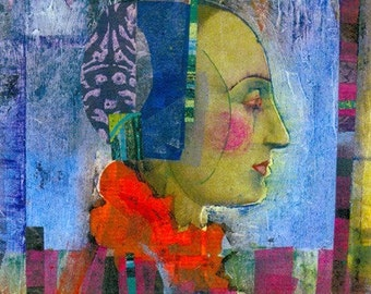 Original Artwork - Mixed Media Collage