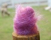 Angelina -- sugar plum -- spinning fiber