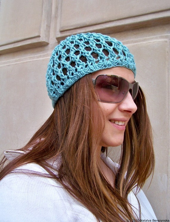 Knit Hat Pattern, Knitting Pattern Hat, Summer Hats Women, Summer Beanie, Boh...