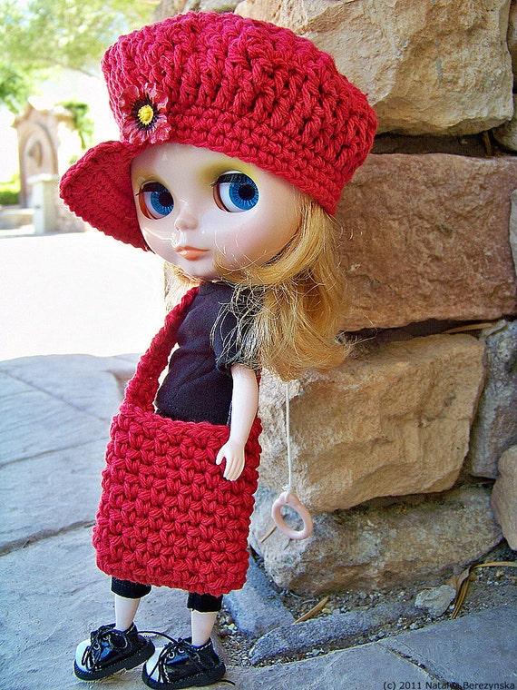 Crochet Hat Pattern For Blythe : Blythe Pattern, Blythe Hat Pattern, Blythe Doll Clothes ...