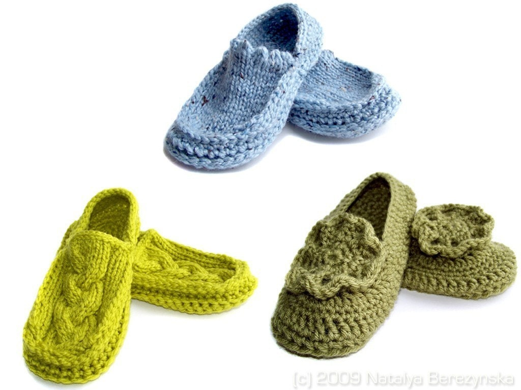 Moccasin Slippers 3 Pairs Special Free US Shipping