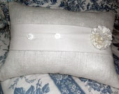 Pillow With Rosette makes Simple and Chique Style