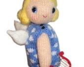 ANGELITA de Navidad pdf PATRON para TEJER con Lana