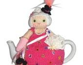 Adorable MARIE ANTOINETTE Tea Cosy pdf Knit PATTERN