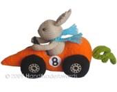 FITTIPALDI CAR Carrot PDF Email KnitPATTERN