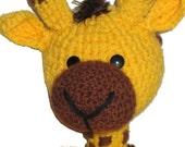 baby Giraffe crochet  Pdf email Pattern
