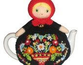 Lovely MATRYOSHKA Tea Cosy Pdf Email Knit PATTERN
