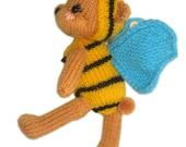 Little Tedddy Bee Pdf Email Knit PATTERN