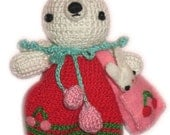 Lovely Mom BUNNY PDF Email Crochet PATTERN