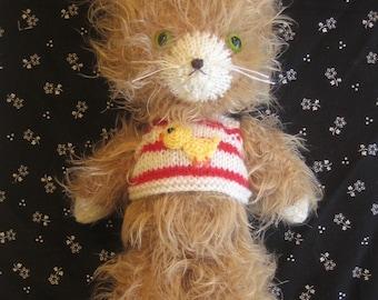 Lovely Sleepy Kitty Pdf Email knit PATTERN
