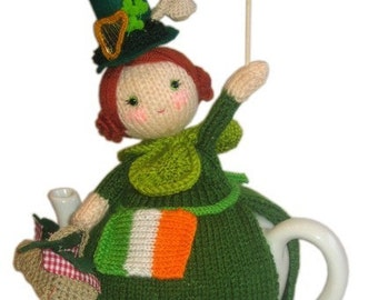St. PATRICKS Day Tea Cosy pdf Email Crochet PATTERN