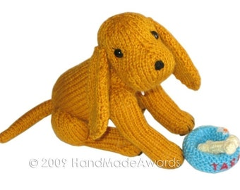 Tarita PUPPY DOG Pdf Email Knit PATTERN