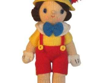 Adorable PINOCCHIO PDF Email KNIT Pattern