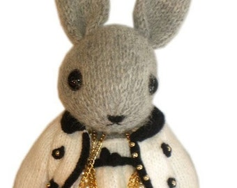 Lovely Marni BUNNY at the Rose Ball in Monaco with her adorable  Dress  PDF Email Knit PATTERN