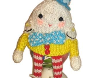 HUMPTY Dumpty Egg Cosy PDF Email Knit PATTERN