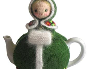 Anna KARENINA tea cosy PDF Email Knit PATTERN