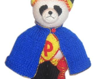Super Panda PDF Email Knit Pattern