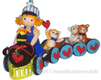 The Train of Love PDF Email Knit PATTERN