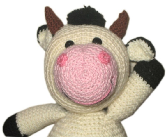 Lovely COW Pdf Email CROCHET PATTERN