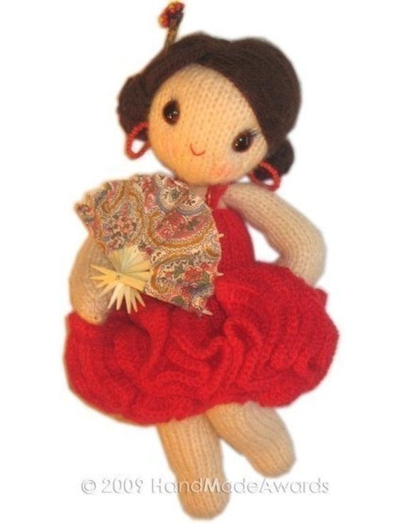 Lovely CARMEN the Spanish Girly Doll Pdf Email Crochet PATTERN