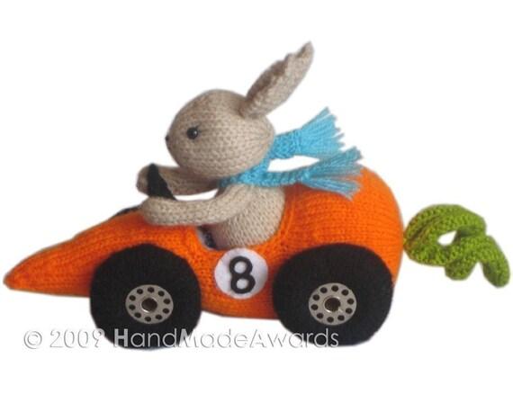 FITTIPALDI CAR Carrot Pdf Email Knit PATTERN