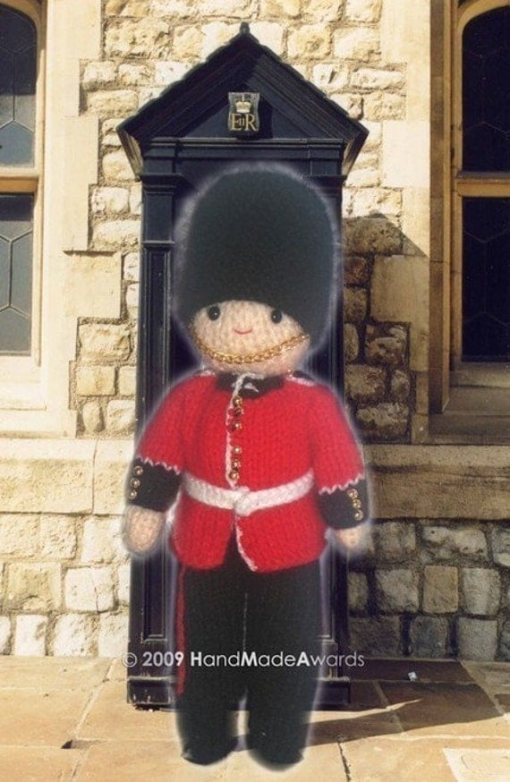Gorgeous ROYAL Guard from BUCKINGHAM Palace Pdf Email Crochet PATTERN