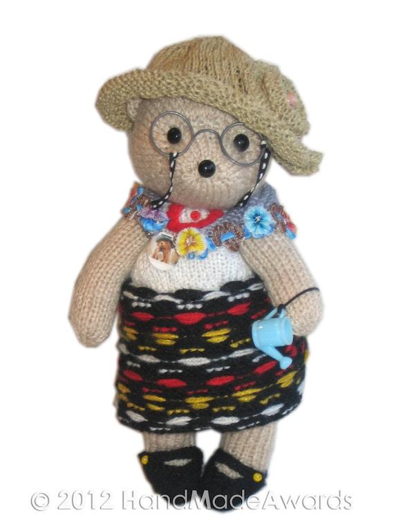 Free Teddy Bear Knitting Patterns