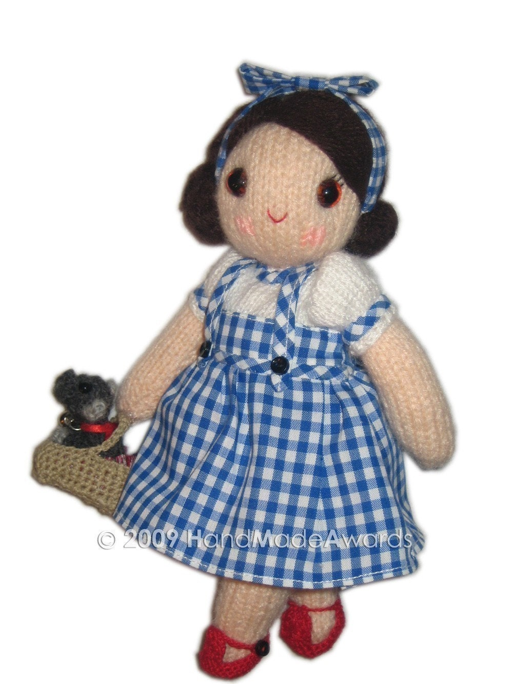 Dorothy Girly Doll With Toto Puppy Dog From Wizard Of Oz