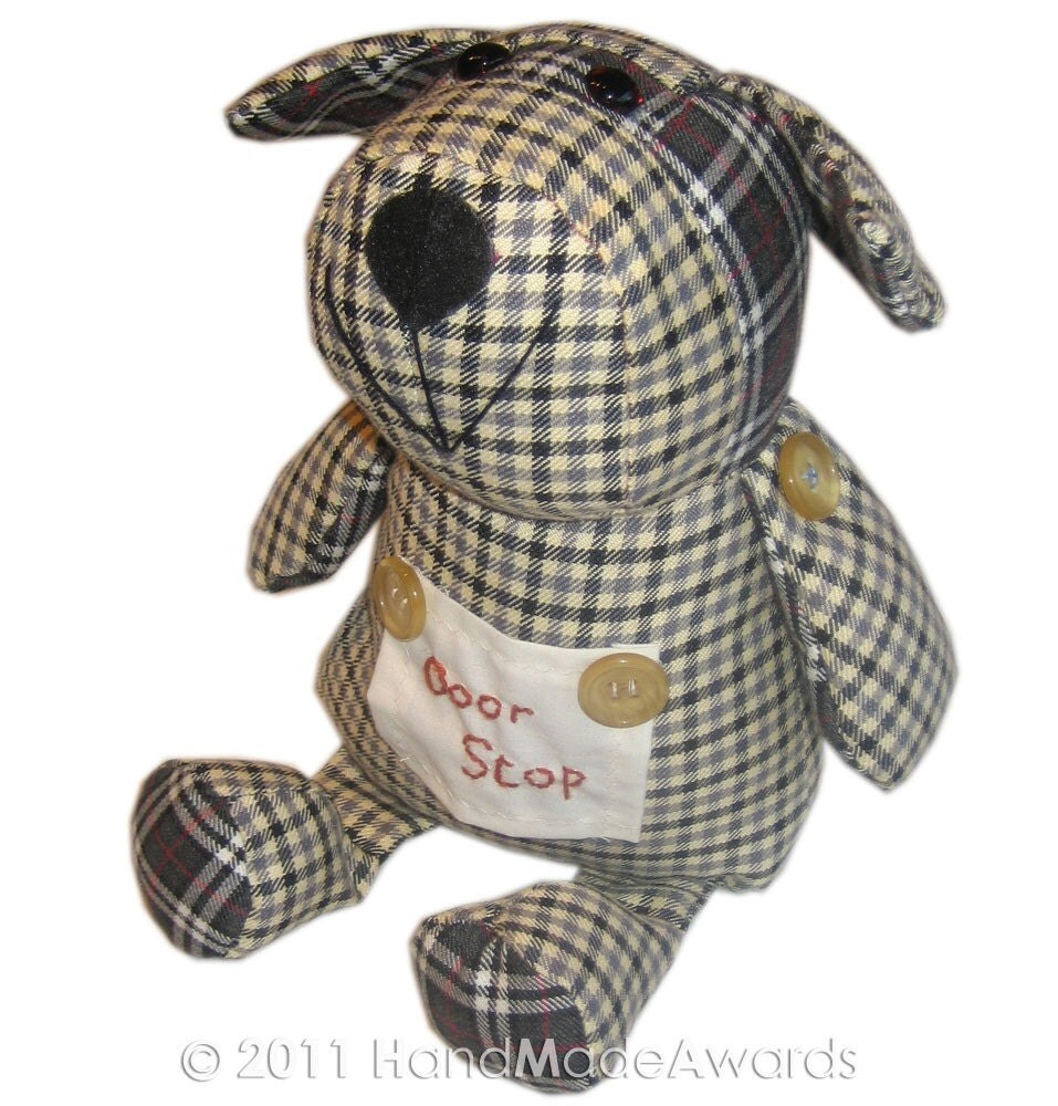 Door Stop Puppy Dog Pdf Email Fabric Pattern