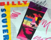 Vintage Billy Squier Concert Shirt Signs Of Life 1984 SMALL