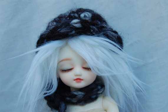 Stormy Day hat and scarf for Yo-SD dolls SALE