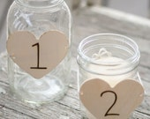 20 Wedding Centerpiece Table Number Charms (Item Number 140288)