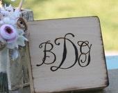 Rustic Cigar Box Wedding Gift For Groomsmen Best Man Monogrammed (item E10024)