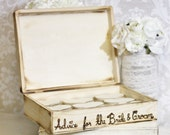 Personalized Wood Rustic Guest Book Box Medium Size (item E10568)