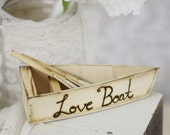 Ring Bearer Pillow Alternative Personalized Love Boat (Item Number 140223)