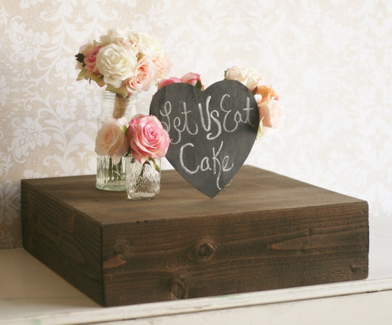 wooden cake stands for wedding cakes items similar to rustic wood cake stand country barn 27589