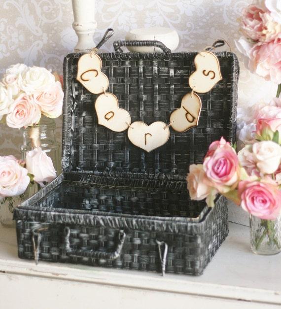 Wedding Card Box Trunk Shabby Chic Rustic Decor (Item Number 140205)