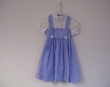 dorothy dress  size 4 child