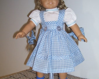 american girl doll dorothy dress