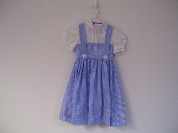dorothy dress  size 6 child