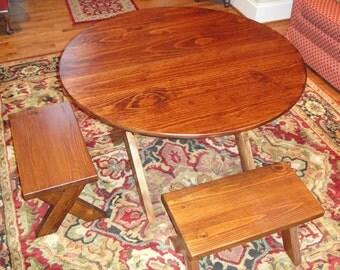 Table Pine Round 44 Inch Diameter