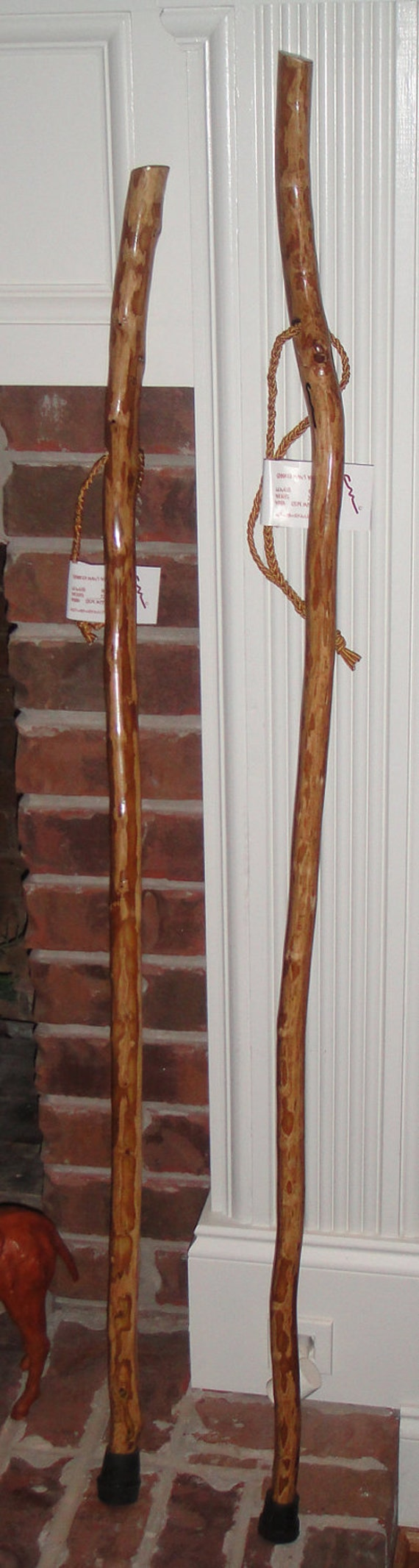 Crooked Man S Crepe Myrtle Walking Stick 49 And 46 Inch