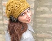 Ofira Beret Crochet Pattern