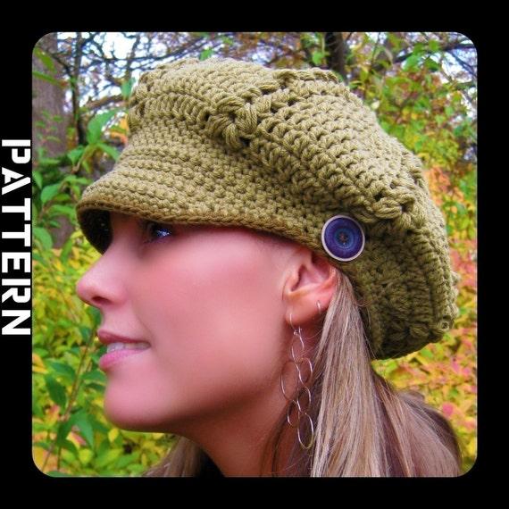 Gigi Newsboy Hat Crochet Pattern