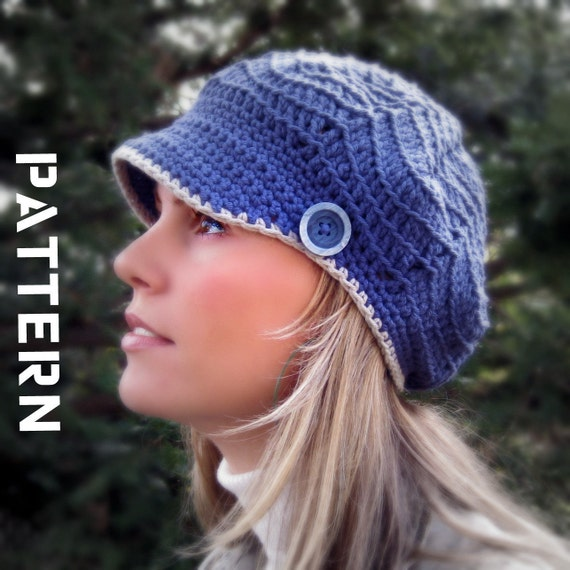 Kabibe Crocheted Hat Crochet Pattern