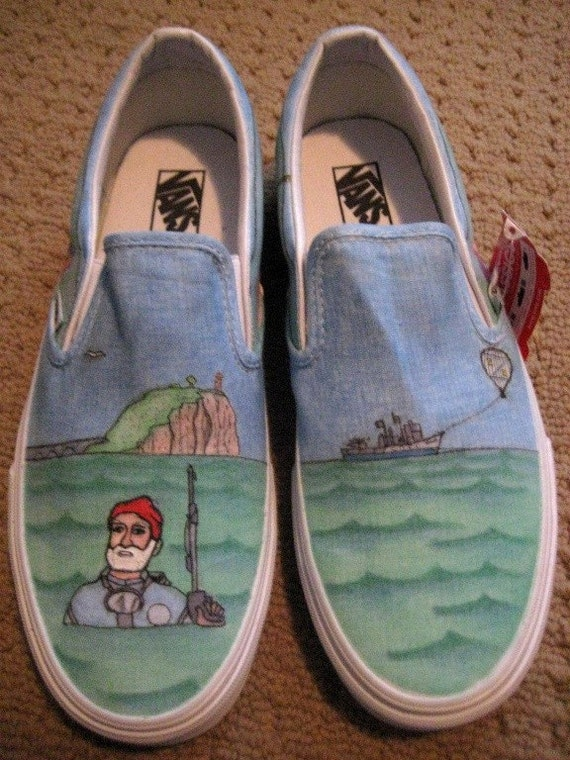 Made to Order THE LIFE AQUATIC shoes